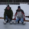 homemade curling stones in Russia