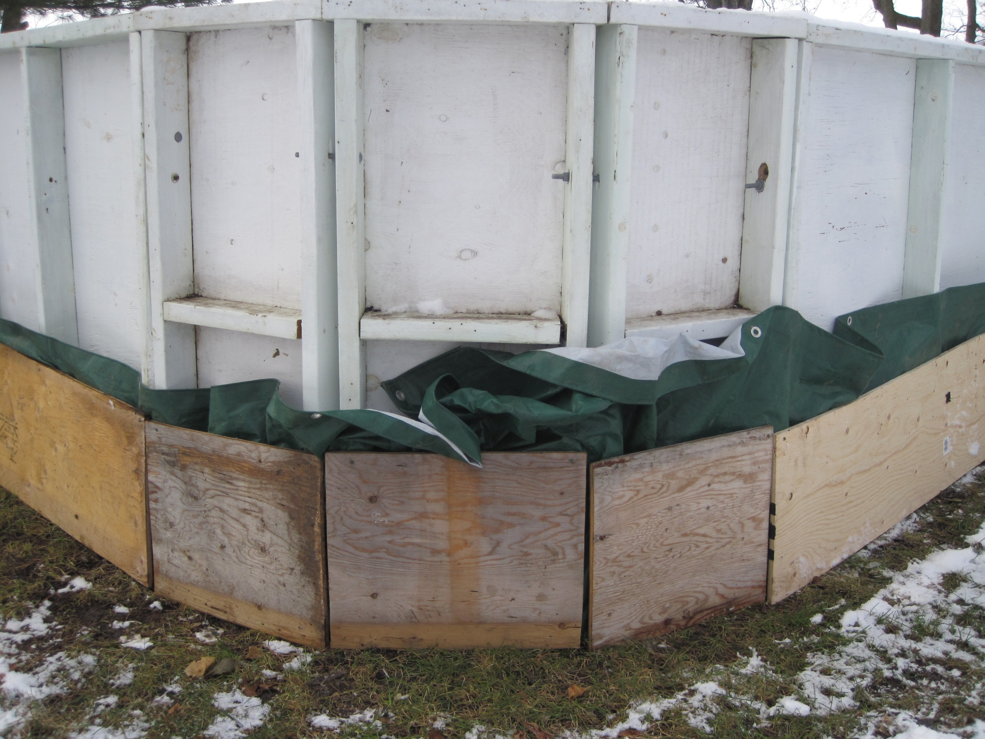 make your own rink with boards