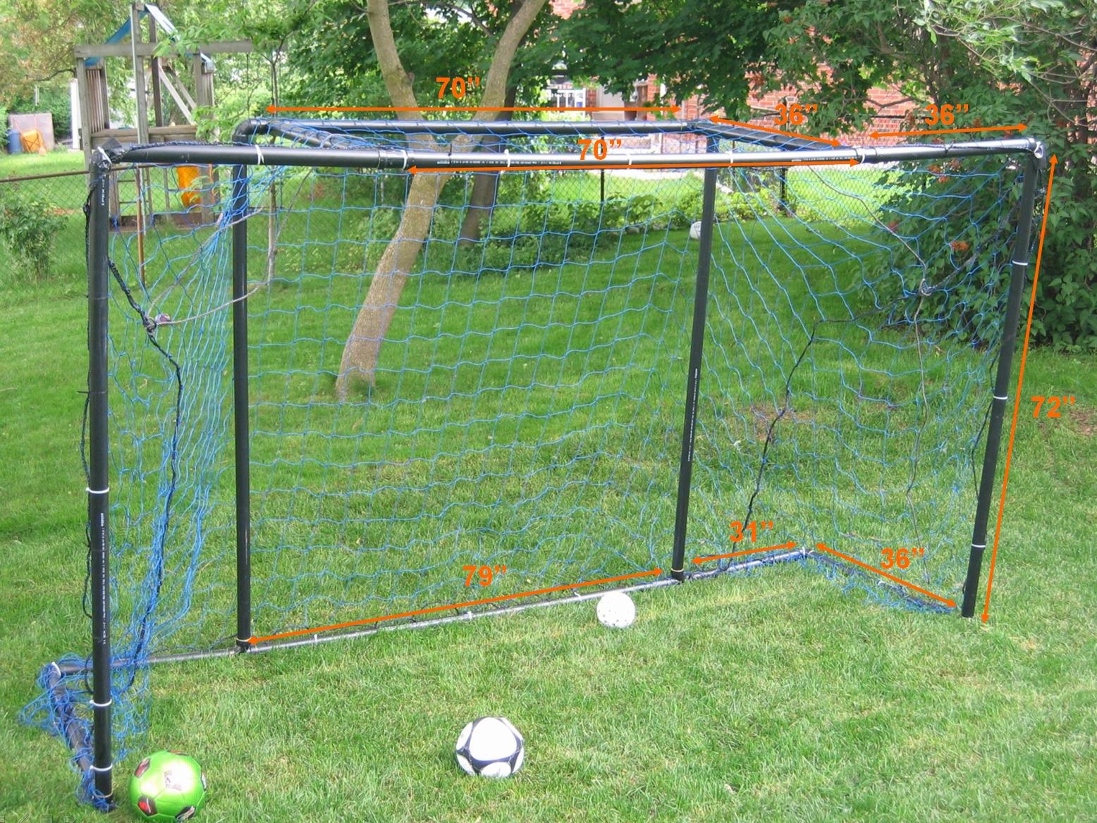 homemade soccer goal pvc pipe homemade ftempo